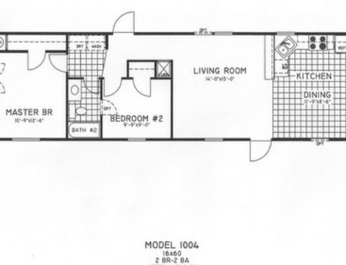 2 Bedroom Floor Plan: C-9009