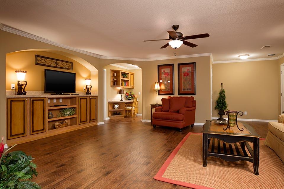 3 Bedroom Floor Plan F 3028 Hawks Homes Manufactured