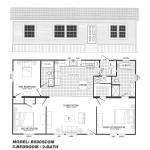 3 Bedroom Floor Plan B-5005