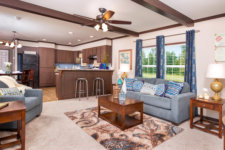 3 bedroom floor plan b 2020 hawks homes manufactured