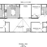 4 Bedroom Floor Plan: C-9811