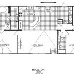 3 Bedroom Floor Plan: C-9911