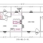 3 Bedroom Floor Plan: F-319