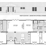 3 Bedroom Floor Plan: B-6017