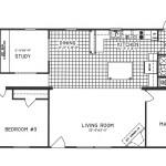 4 Bedroom Floor Plan: C-9207