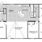 4 Bedroom Floor Plan: C-9301