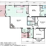 3 Bedroom Floor Plan: F-5039
