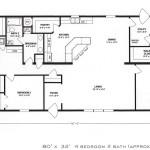 4 Bedroom Floor Plan: F-1001