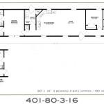 3 Bedroom Floor Plan: F-401