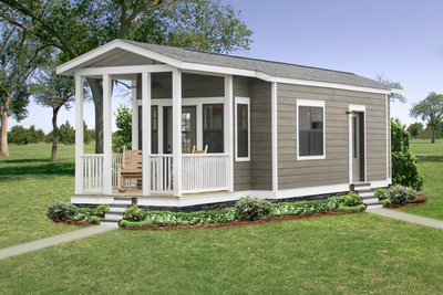 1 bedroom camp house series hawks homes manufactured for One bedroom modular home