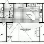 3 Bedroom Floor Plan: C-9816