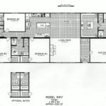 4 Bedroom Floor Plan: C-9917