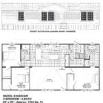 3 Bedroom Floor Plan: B-5028
