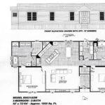 3 Bedroom Floor Plan: B-6031