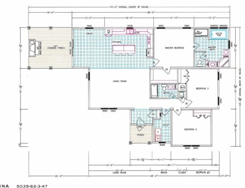 3 Bedroom Floor Plan: Nandina (F-5039)