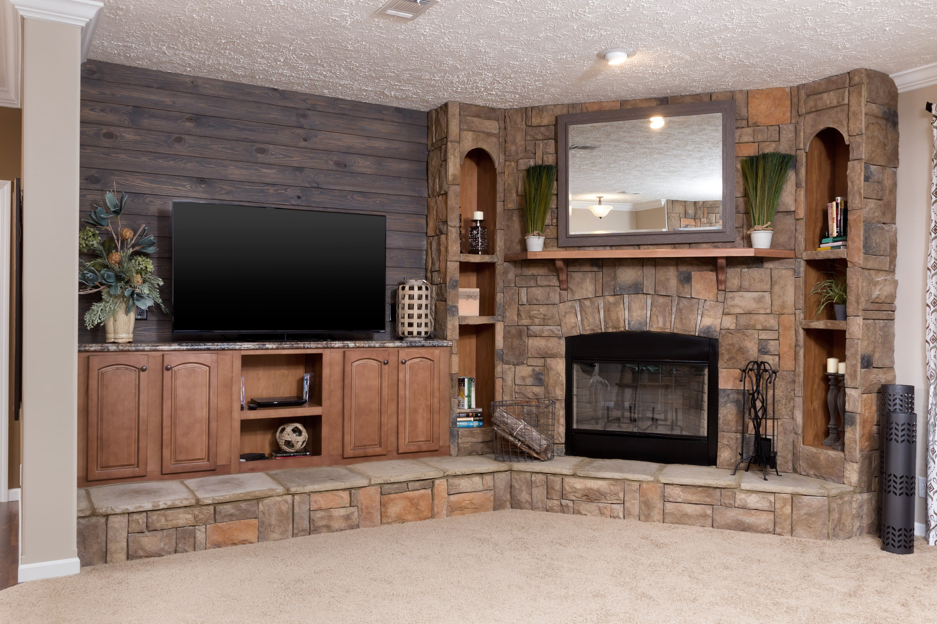 Kabco KB 3237 Ent Ctr Fireplace 0080 1 Hawks Homes