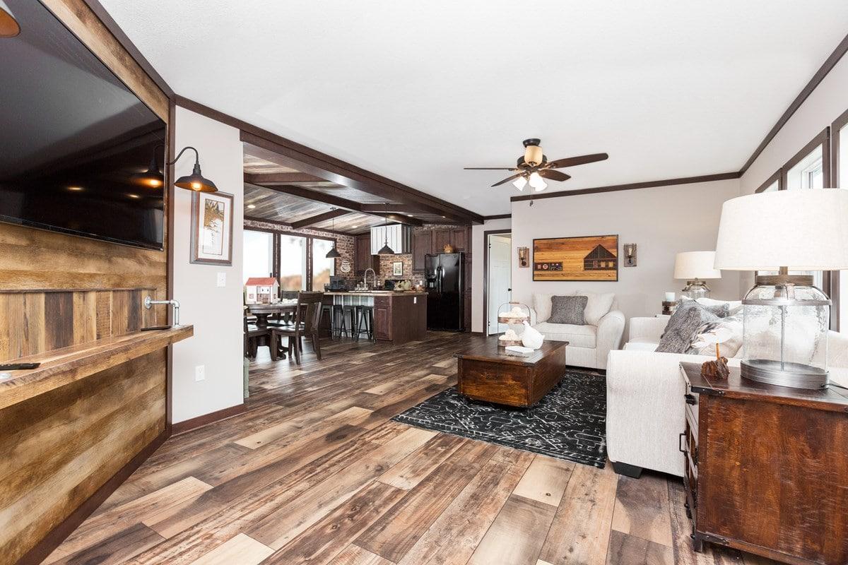 3 Bedroom Floor Plan B 5039 Quot Avalyn Quot Hawks Homes