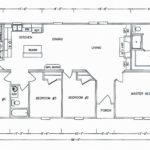 4 Bedroom Floor Plan: K-MD-31