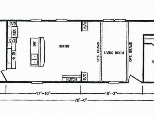 3 Bedroom Floor Plan: K-MD-111