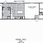 3 Bedroom Floor Plan: C-9122