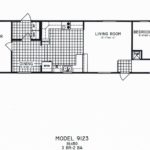 3 Bedroom Floor Plan: C-9123