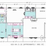 3 Bedroom Floor Plan: F-620