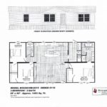 "3 Bedroom Floor Plan: ""The Hanson"""