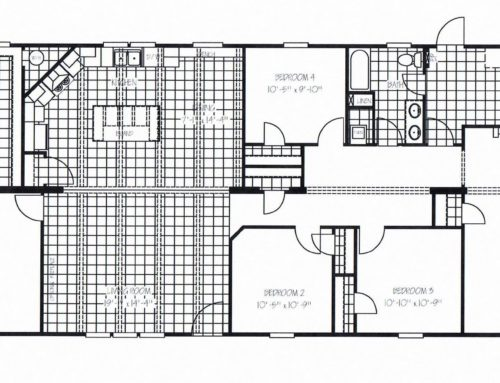 4 Bedroom Floor Plan: The Murphy