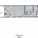 3 Bedroom Floor Plan: C-2001 Special