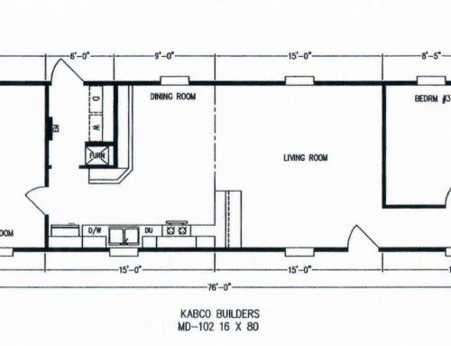 3 Bedroom Floor Plan: K-MD102