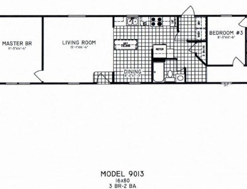 Bigfoot Model 3 Bedroom/2Bath C-9013