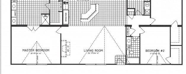 3 Bedroom Floor Plan: C-9911