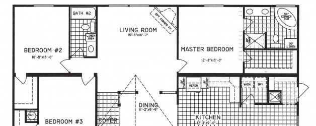3 Bedroom Floor Plan: C-9810
