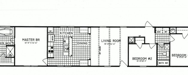 3 Bedroom Floor Plan: C-9010