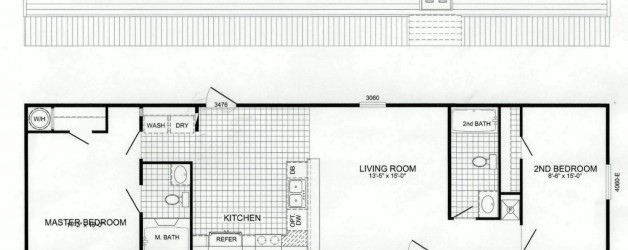 2 Bedroom Floor Plan: B-2407