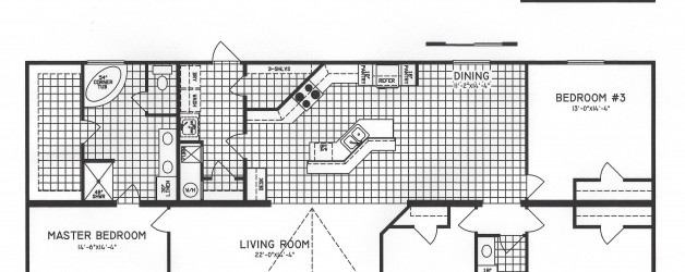 4 Bedroom Floor Plan: C-9910