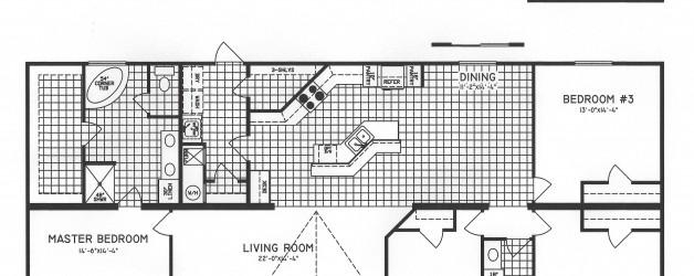 4 Bedroom Floor Plan: C-9910