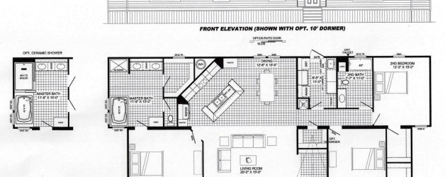 3 Bedroom Floor Plan: B-6031