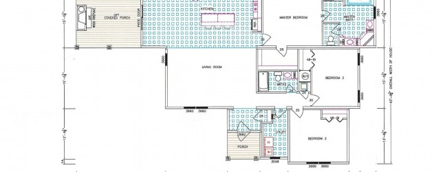 3 Bedroom Floor Plan: F-5039 Nandina