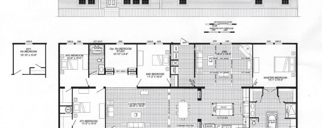 4 Bedroom Floor Plan: B-6020