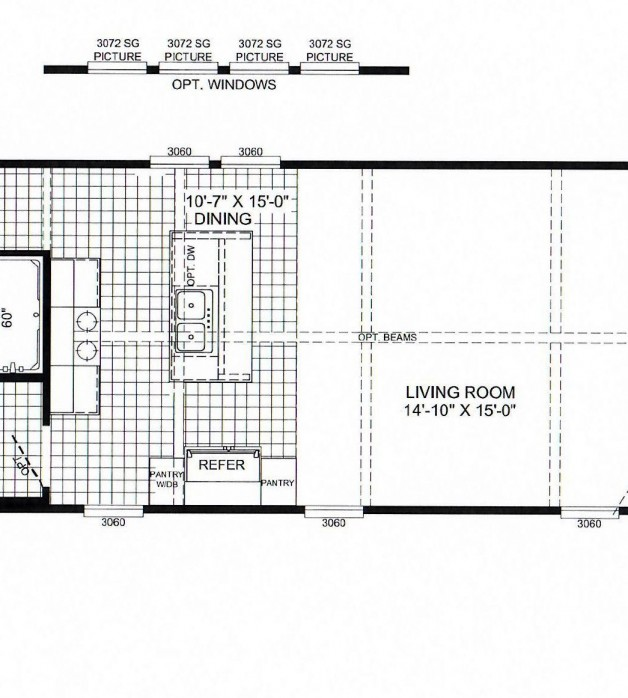 3 Bedroom Floorplans Modular and Manufactured Homes in AR