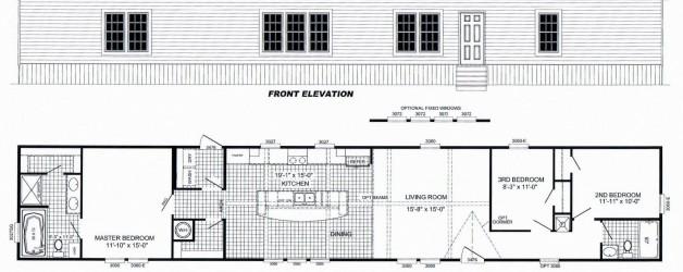 3 Bedroom Floor Plan: B-2027