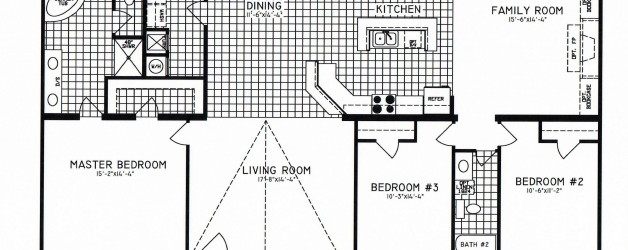 3 Bedroom Floor Plan: C-9303