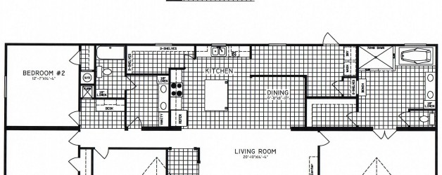 4 Bedroom Floor Plan: C-9920