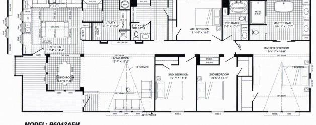 "4 Bedroom Floor Plan: ""The Lulabelle"""
