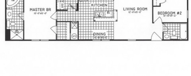2 Bedroom Floor Plan: C-9701