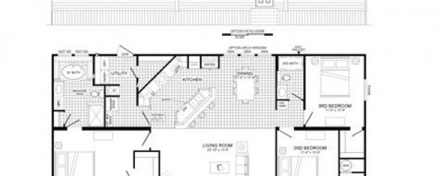 3 Bedroom Floor Plan: 09-B5402K