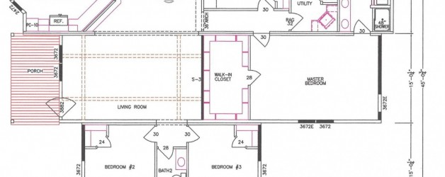 4 Bedroom Floor Plan: F-3017