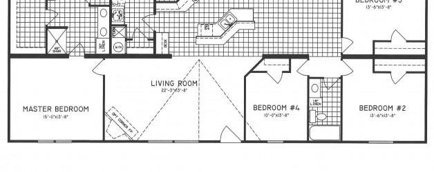 4 Bedroom Floor Plan: C-9807