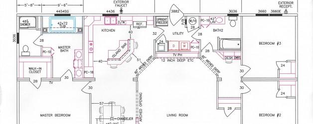 3 Bedroom Floor Plan F-3028